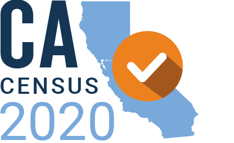CA Census 2020 logo