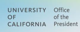 University of California Office of the Preseident