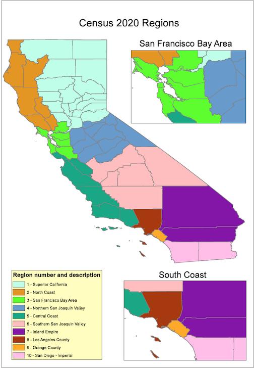 Bay Area Demographics Map – San francisco bay area maps.